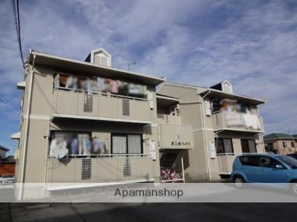 群馬県藤岡市、群馬藤岡駅徒歩12分の築25年 2階建の賃貸アパート