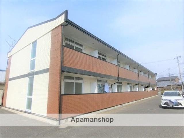 群馬県みどり市、岩宿駅徒歩28分の築19年 2階建の賃貸アパート