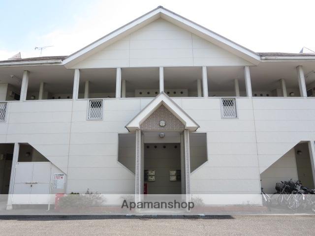 群馬県桐生市、西桐生駅徒歩30分の築28年 2階建の賃貸アパート