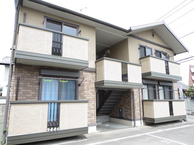 群馬県桐生市、小俣駅徒歩30分の築10年 2階建の賃貸アパート