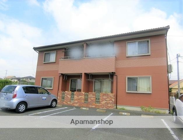 群馬県桐生市、新里駅徒歩7分の築11年 2階建の賃貸アパート