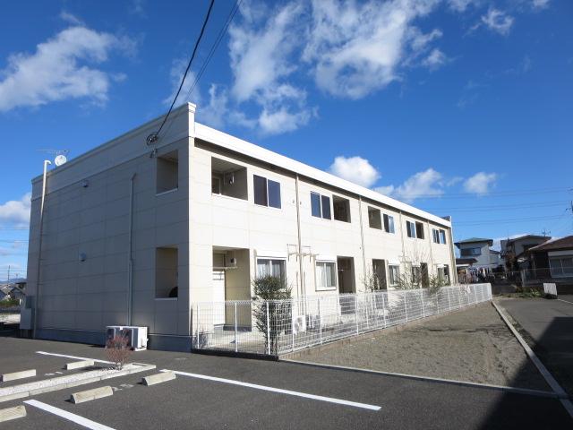 群馬県太田市、国定駅徒歩65分の築4年 2階建の賃貸アパート