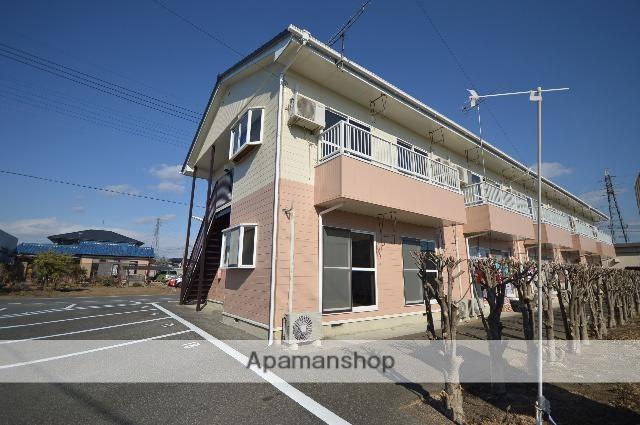 群馬県みどり市、岩宿駅徒歩14分の築23年 2階建の賃貸アパート