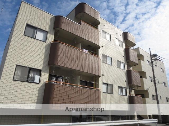 群馬県桐生市の築24年 4階建の賃貸マンション