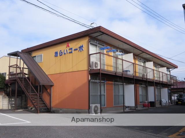 群馬県桐生市、桐生駅徒歩18分の築35年 2階建の賃貸アパート