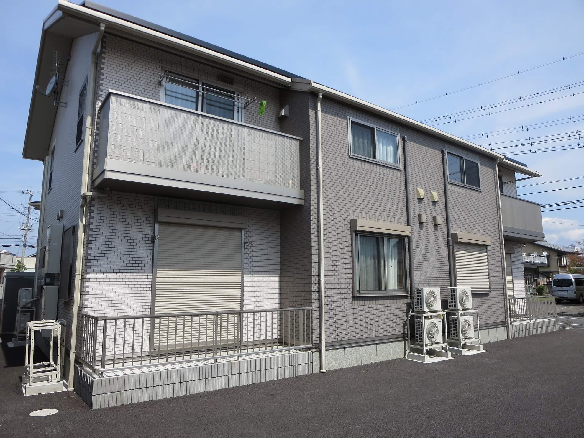 群馬県桐生市、新桐生駅徒歩18分の築4年 2階建の賃貸アパート