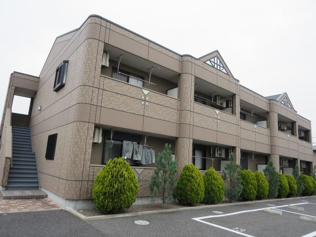 群馬県みどり市、岩宿駅徒歩11分の築9年 2階建の賃貸アパート