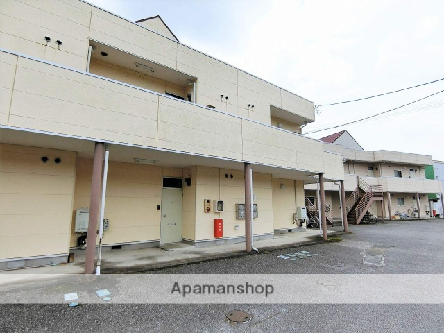 群馬県桐生市、西桐生駅徒歩35分の築29年 2階建の賃貸アパート