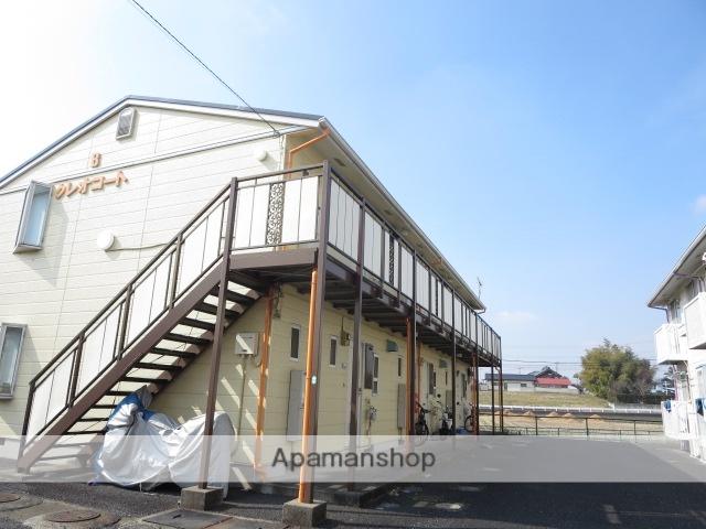 群馬県みどり市、岩宿駅徒歩40分の築25年 2階建の賃貸アパート