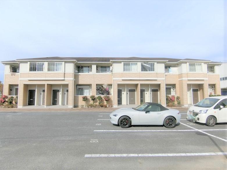群馬県桐生市、小俣駅徒歩32分の築7年 2階建の賃貸アパート