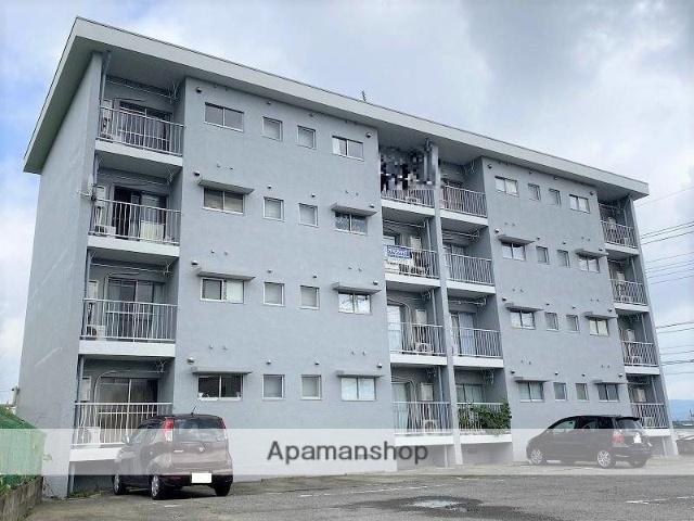 群馬県桐生市、岩宿駅徒歩28分の築47年 4階建の賃貸マンション