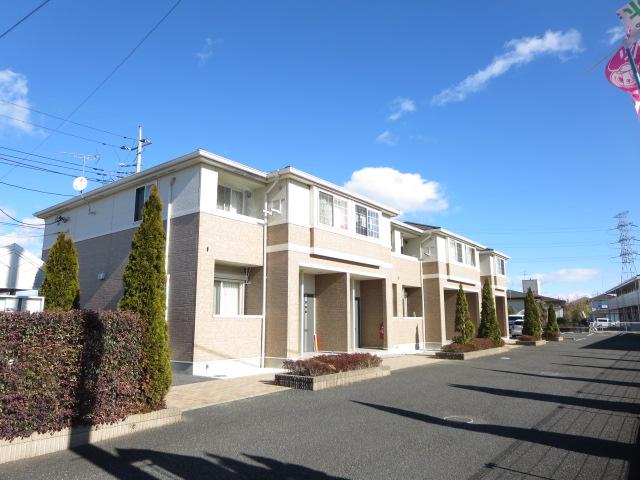 群馬県太田市、国定駅徒歩65分の築6年 2階建の賃貸アパート