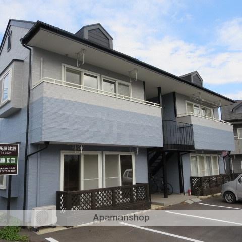 群馬県桐生市、阿左美駅徒歩22分の築17年 2階建の賃貸アパート