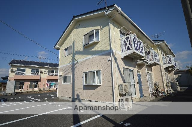 群馬県みどり市、岩宿駅徒歩14分の築24年 2階建の賃貸アパート