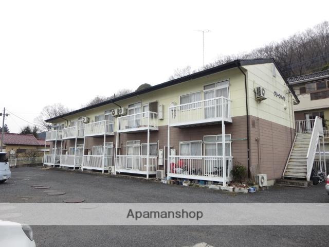 群馬県桐生市、運動公園駅徒歩30分の築21年 2階建の賃貸アパート