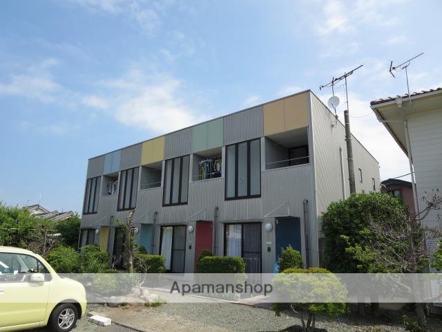 群馬県桐生市、運動公園駅徒歩10分の築15年 2階建の賃貸アパート