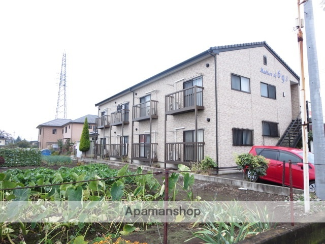 群馬県桐生市、相老駅徒歩14分の築10年 2階建の賃貸アパート