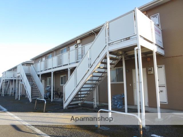 群馬県みどり市、岩宿駅徒歩14分の築22年 2階建の賃貸アパート
