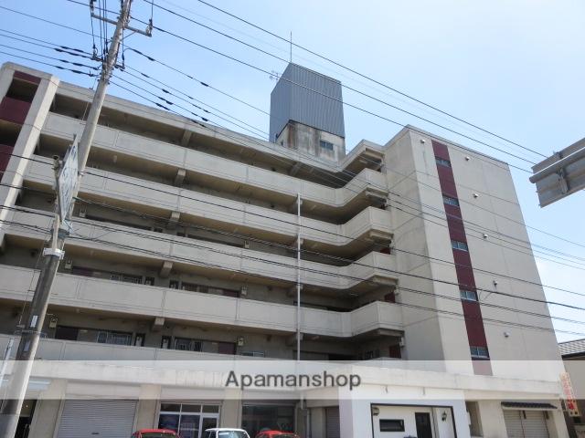 群馬県桐生市、桐生駅徒歩13分の築34年 6階建の賃貸マンション