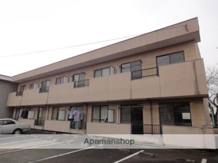 群馬県みどり市、赤城駅徒歩30分の築21年 2階建の賃貸アパート