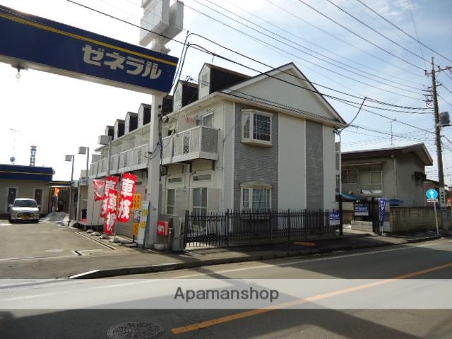 群馬県桐生市、桐生駅徒歩10分の築26年 2階建の賃貸アパート