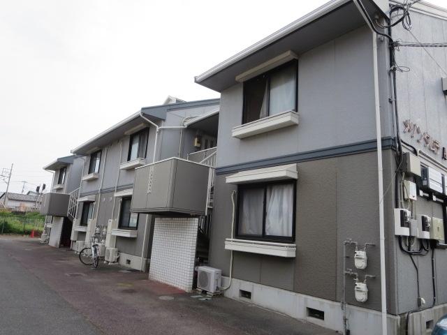 群馬県桐生市、阿左美駅徒歩19分の築24年 2階建の賃貸アパート