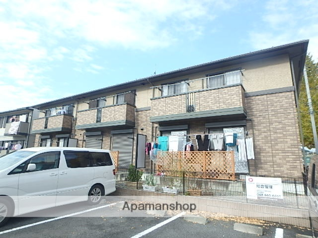 埼玉県さいたま市北区、宮原駅徒歩27分の築13年 2階建の賃貸アパート