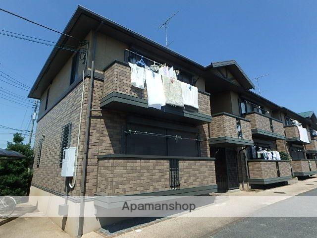 埼玉県桶川市、桶川駅徒歩25分の築15年 2階建の賃貸アパート