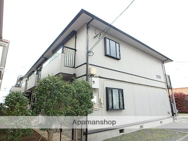 埼玉県桶川市、上尾駅徒歩28分の築19年 2階建の賃貸アパート