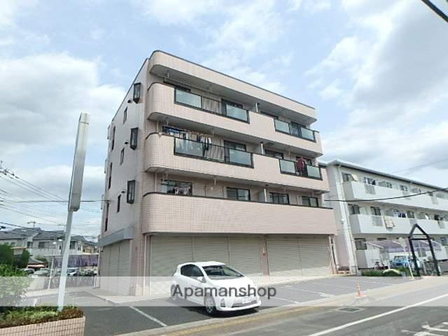 埼玉県上尾市、上尾駅徒歩8分の築25年 4階建の賃貸マンション