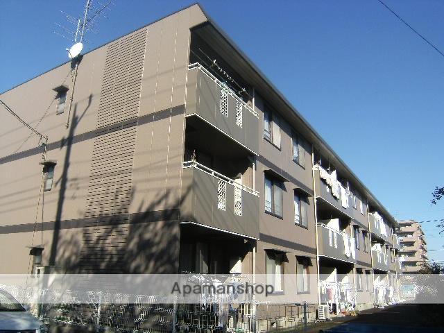埼玉県桶川市、北上尾駅徒歩9分の築23年 3階建の賃貸アパート