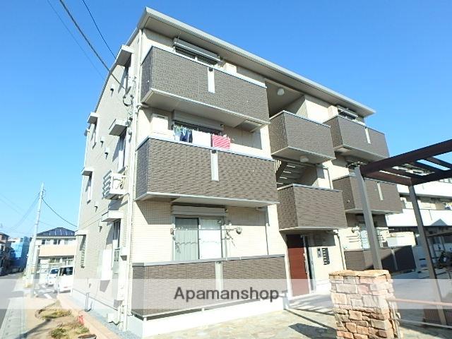 埼玉県上尾市、上尾駅徒歩18分の築3年 3階建の賃貸アパート