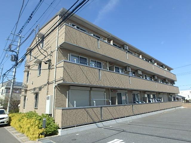 埼玉県上尾市、上尾駅徒歩25分の築5年 3階建の賃貸アパート