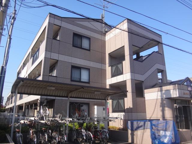 埼玉県さいたま市北区、宮原駅バス7分吉野町車庫下車後徒歩3分の築16年 3階建の賃貸マンション