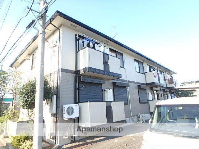埼玉県北足立郡伊奈町、志久駅徒歩20分の築18年 2階建の賃貸アパート