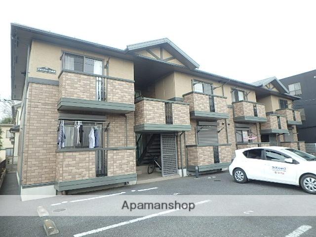 埼玉県上尾市、桶川駅徒歩17分の築13年 2階建の賃貸アパート