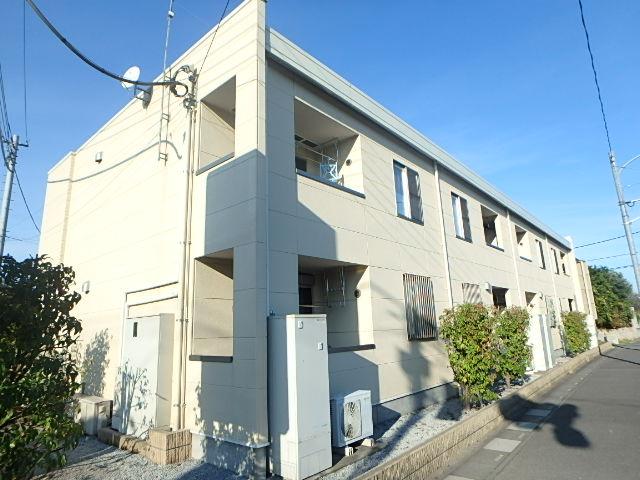 埼玉県上尾市、指扇駅徒歩52分の築5年 2階建の賃貸アパート