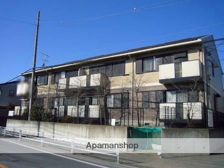 埼玉県北足立郡伊奈町、志久駅徒歩19分の築20年 2階建の賃貸アパート