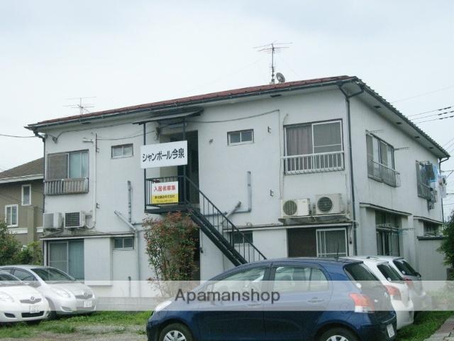 埼玉県上尾市、上尾駅バス5分市民体育館前下車後徒歩5分の築46年 2階建の賃貸アパート