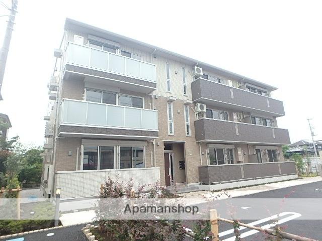 埼玉県さいたま市北区、宮原駅徒歩32分の築1年 3階建の賃貸アパート