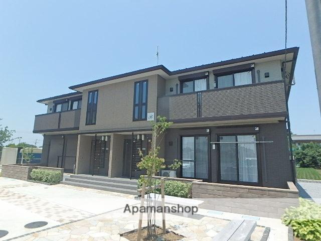 埼玉県上尾市、上尾駅バス15分第一団地南下車後徒歩7分の新築 2階建の賃貸アパート