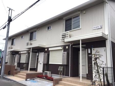 埼玉県桶川市、桶川駅徒歩5分の新築 2階建の賃貸アパート