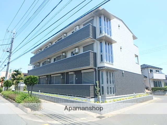 埼玉県上尾市、北上尾駅徒歩29分の新築 3階建の賃貸アパート