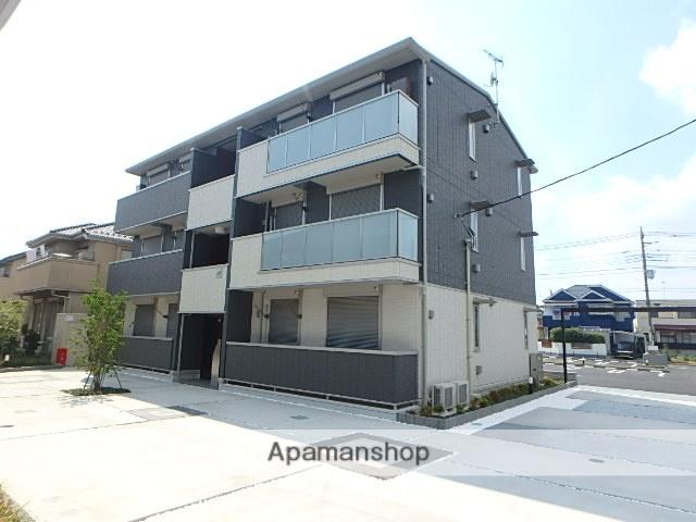 埼玉県北本市、北本駅徒歩21分の新築 3階建の賃貸アパート