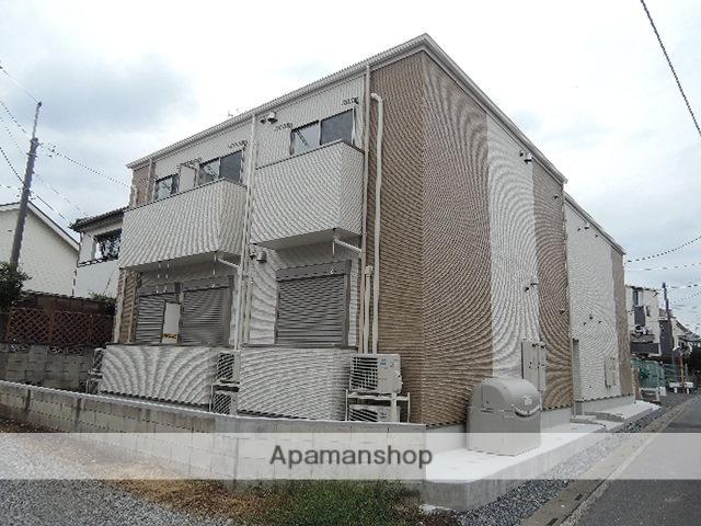 埼玉県上尾市、上尾駅徒歩9分の新築 2階建の賃貸アパート