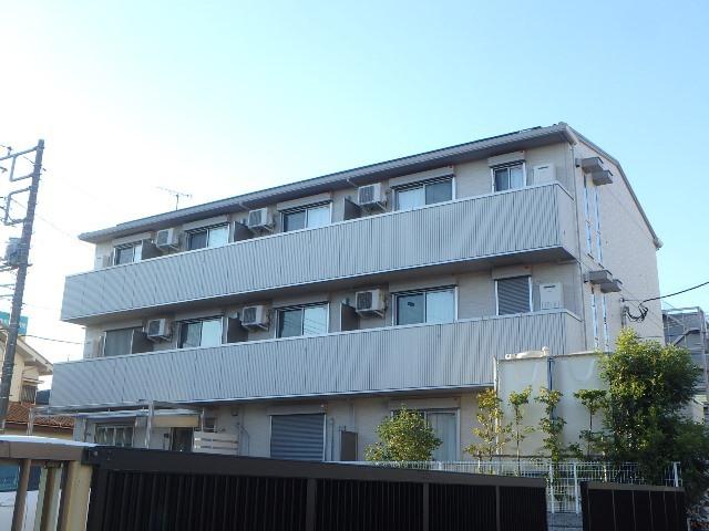 埼玉県桶川市、北上尾駅徒歩24分の新築 3階建の賃貸アパート