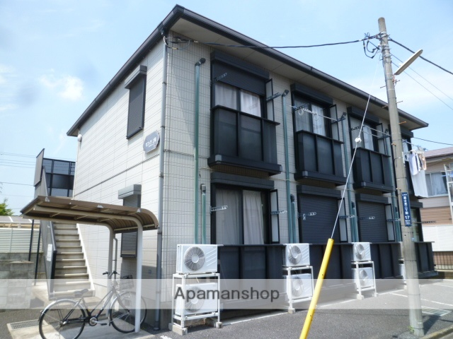 埼玉県上尾市、上尾駅徒歩12分の築18年 2階建の賃貸アパート
