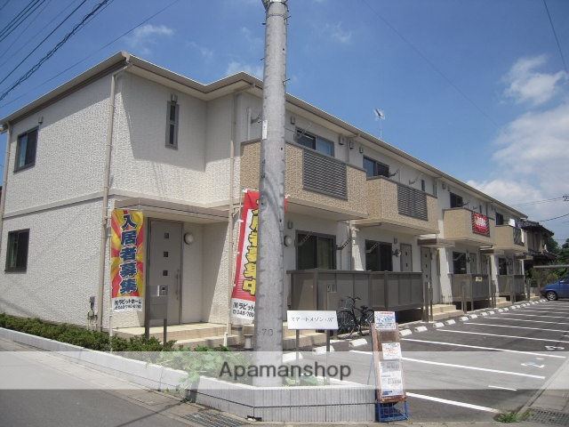 埼玉県上尾市、上尾駅バス10分今泉下車後徒歩2分の築6年 2階建の賃貸アパート