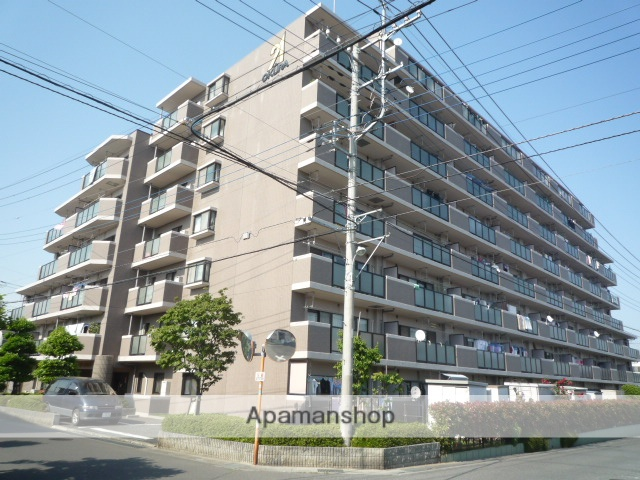 埼玉県さいたま市北区、宮原駅バス7分しらかば通り下車後徒歩6分の築22年 8階建の賃貸マンション