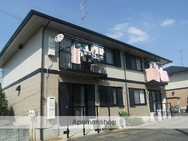 埼玉県北本市、桶川駅徒歩67分の築20年 2階建の賃貸アパート